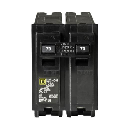small resolution of square d homeline 70 amp 2 pole standard trip circuit breaker at square d 200 amp box dual square d fuse box