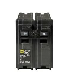 square d homeline 25 amp 2 pole standard trip circuit breaker [ 900 x 900 Pixel ]