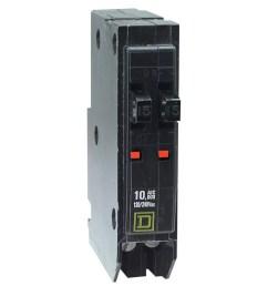 square d qo 15 amp 1 pole tandem circuit breaker at lowes com [ 900 x 900 Pixel ]