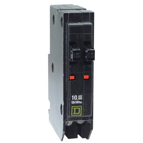 small resolution of square d qo 15 amp 1 pole tandem circuit breaker at lowes com