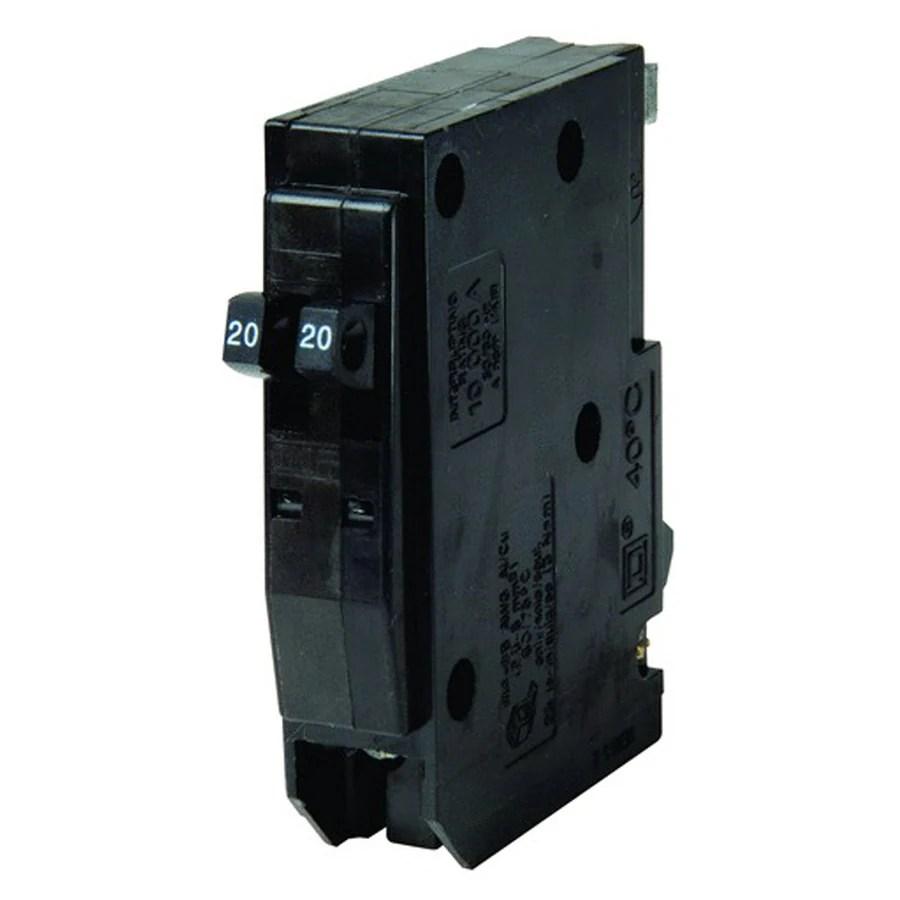 medium resolution of square d qo 20 amp 1 pole tandem circuit breaker