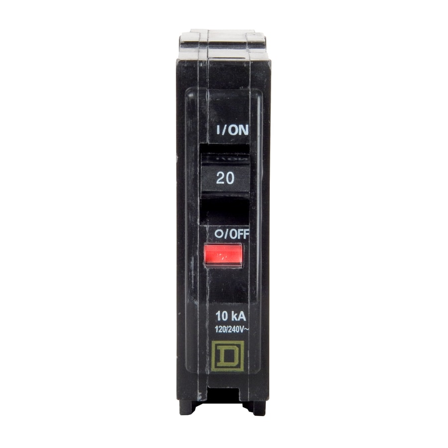 medium resolution of square d qo 20 amp 1 pole standard trip circuit breaker