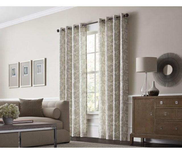Al Roth Lapeer  In Scotton Grommet Light Filtering Single Curtain Panel