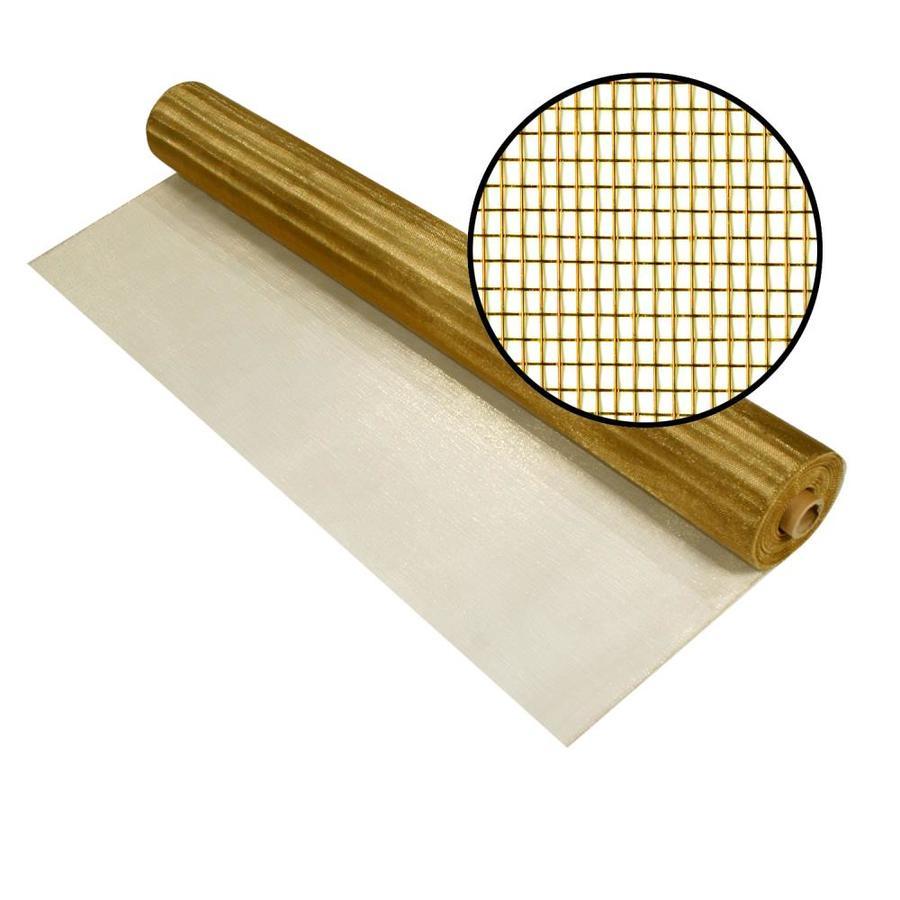Phifer Bronze 4 Ft X 100 Ft Bright Bronze Copper Screen
