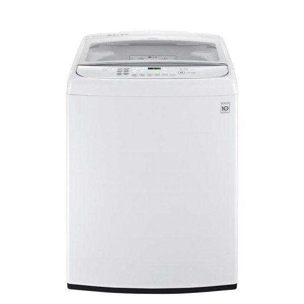 Lg 4.9-cu Ft High-efficiency Top-load Washer White Energy Star