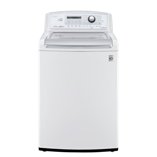 Lg 4.9-cu Ft High Efficiency Top-load Washer White Energy Star