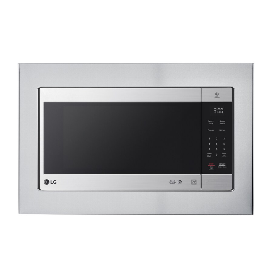 lg countertop microwave trim kit stainless steel lowes com