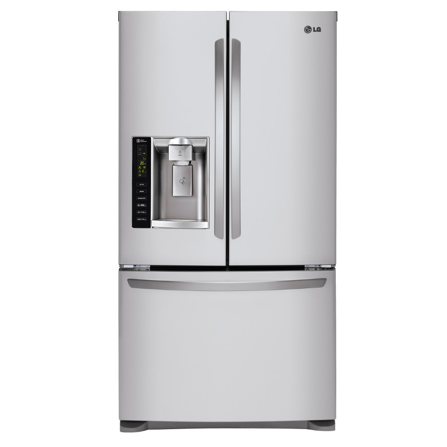 Shop Lg 241cu Ft French Door Refrigerator With Dual Ice