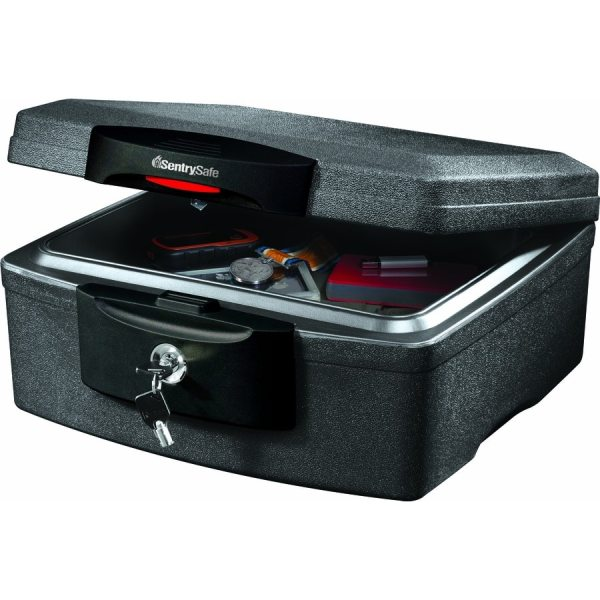 Sentrysafe 0.36-cu Ft Keyed Fire Resistant Waterproof Chest Safe