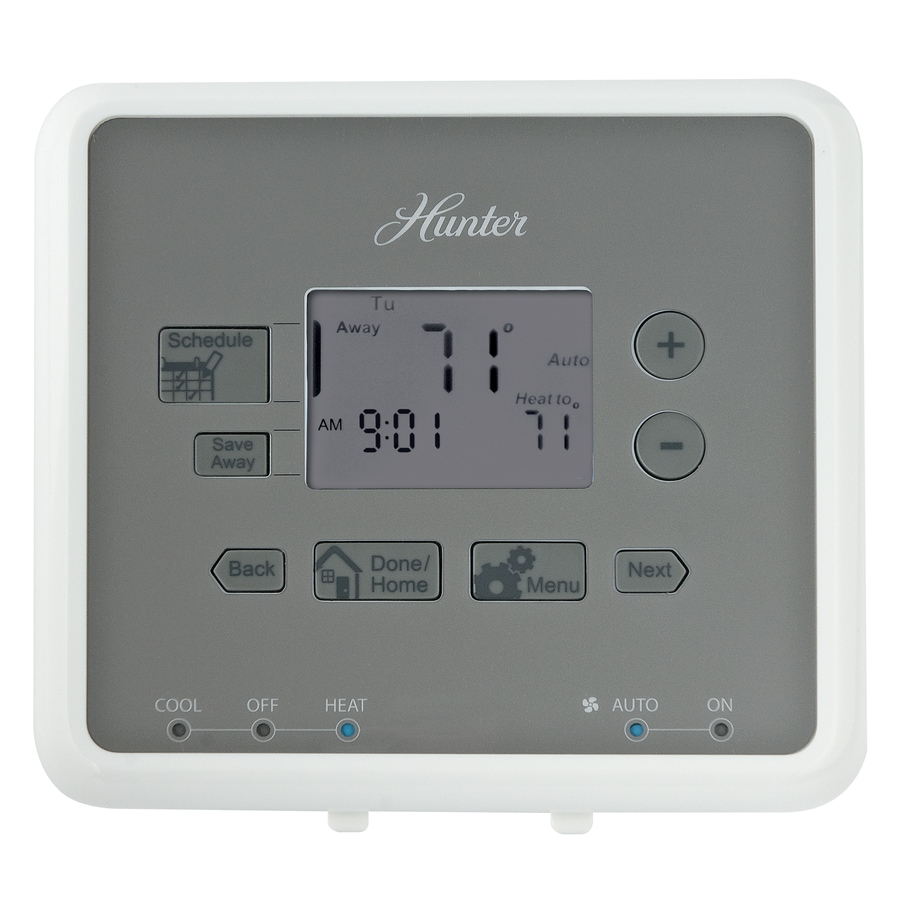 medium resolution of hunter 5 2 day programmable thermostat