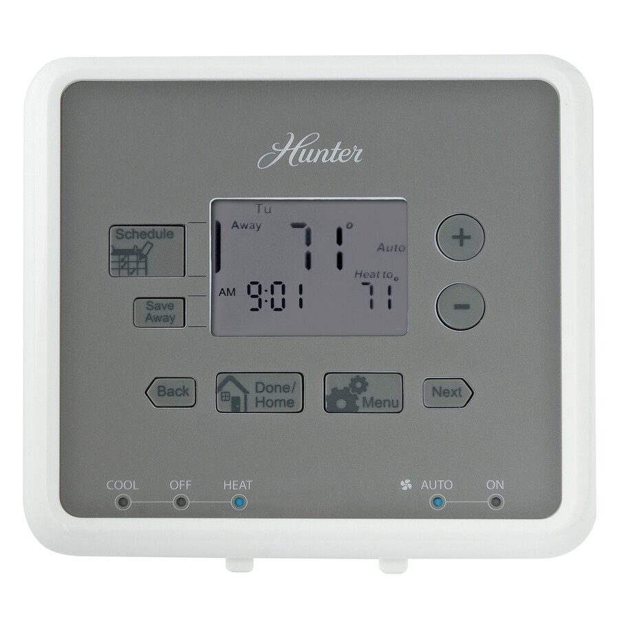 hight resolution of hunter 5 2 day programmable thermostat
