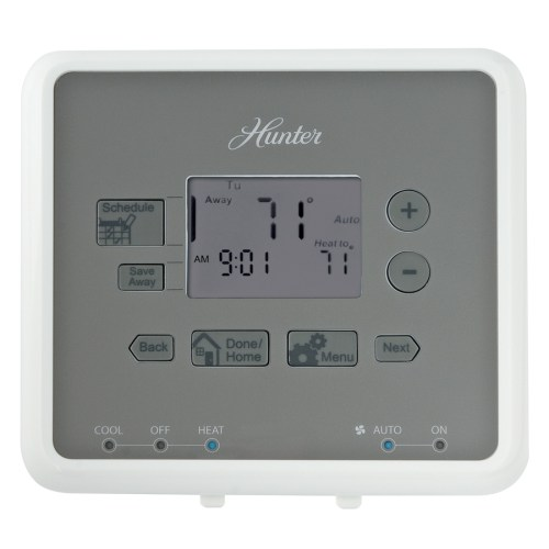 small resolution of hunter 5 2 day programmable thermostat
