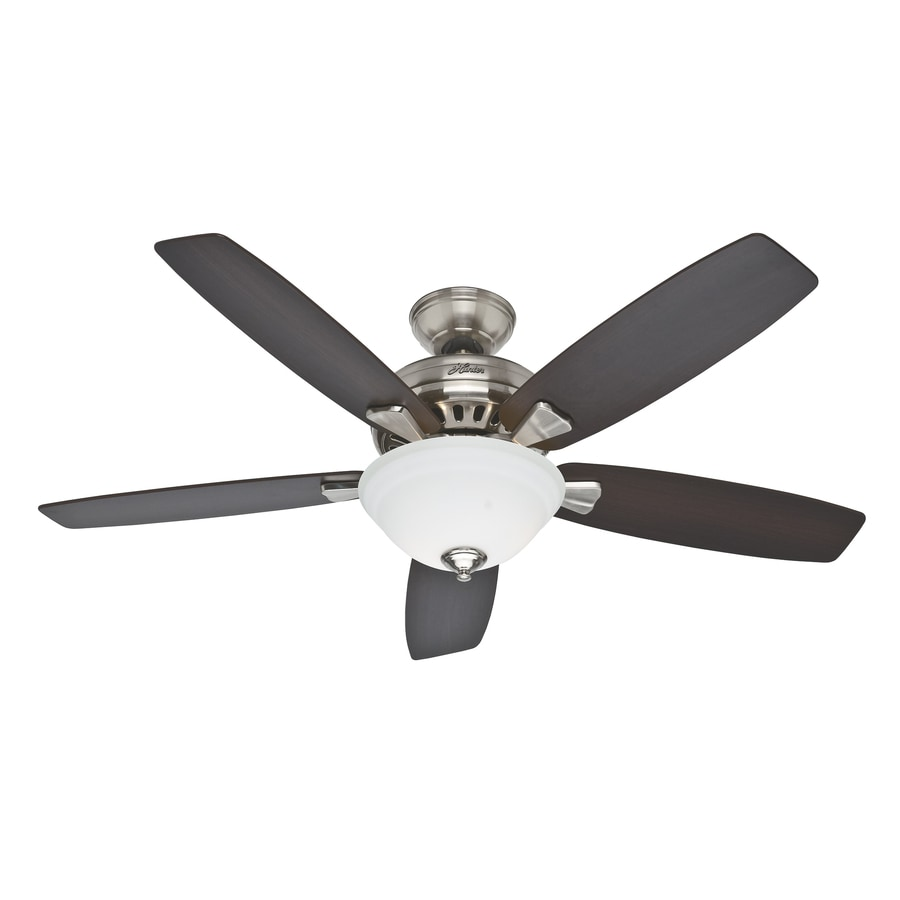 medium resolution of hunter banyan 52 in brushed nickel indoor ceiling fan with light kit wiring diagram on hunter fan home ceiling fans and ceiling fan