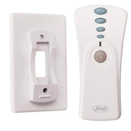 small resolution of hunter white handheld universal ceiling fan remote control
