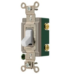 hubbell 30 amp double pole white toggle light switch at lowes com two pole switch light wiring light switch double pole 30 amp wiring diagram [ 900 x 900 Pixel ]
