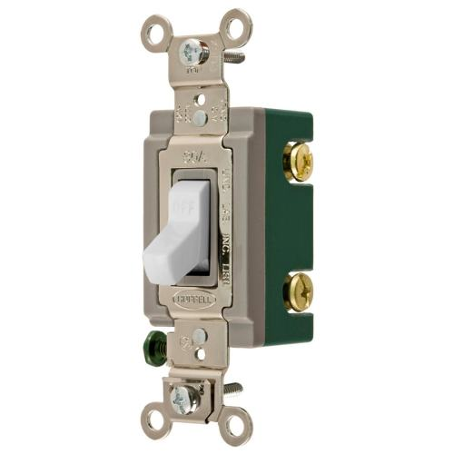 small resolution of hubbell 30 amp double pole white toggle light switch at lowes com two pole switch light wiring light switch double pole 30 amp wiring diagram