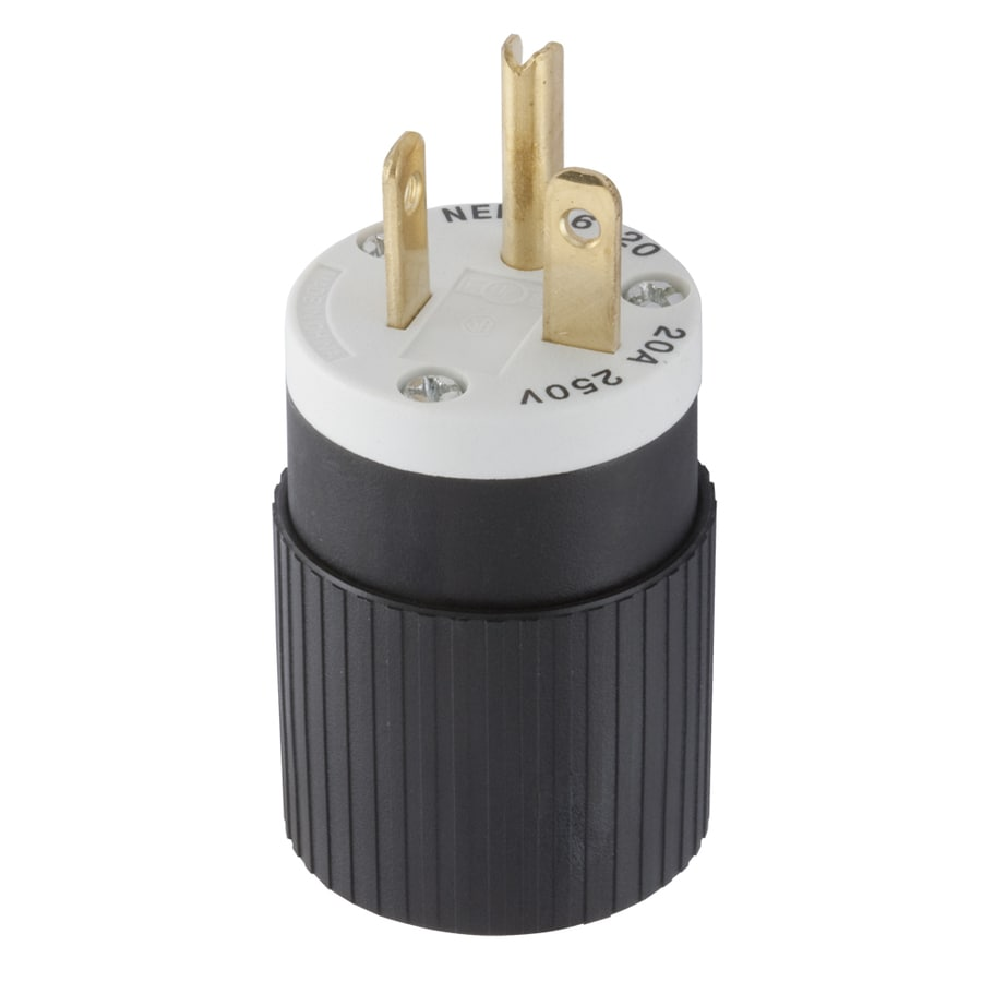 hight resolution of electrical plugs connectors at lowes com 115v 20a plug wiring