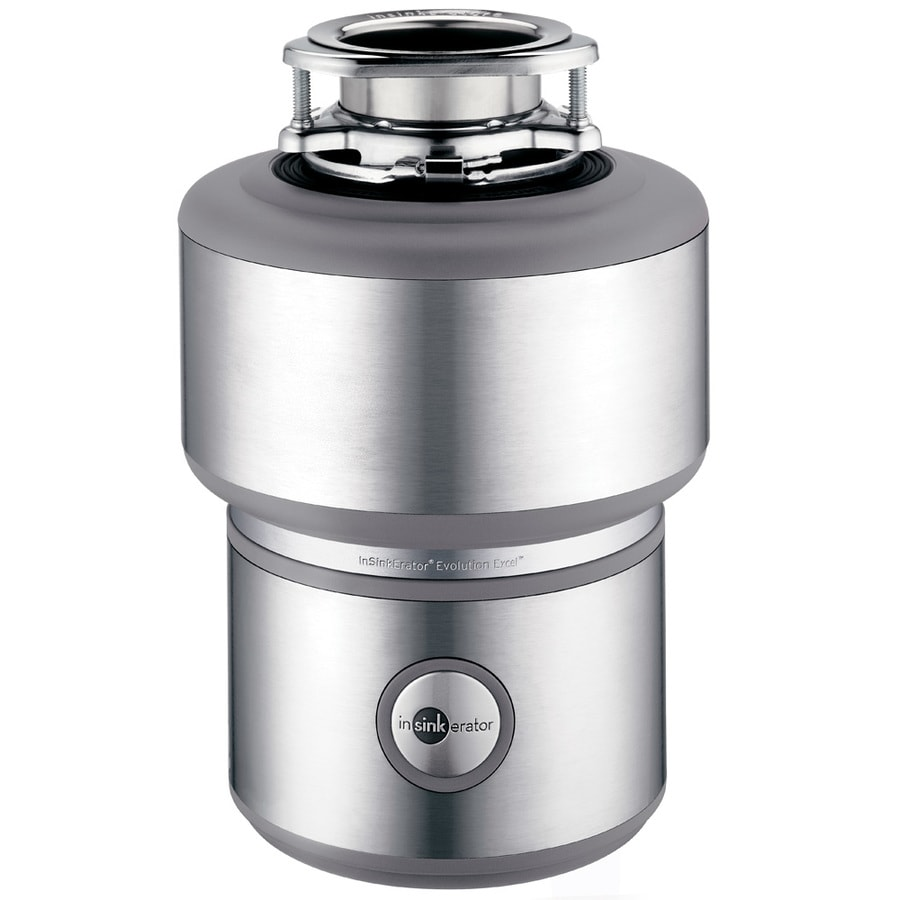 InSinkErator Evolution Excel 1HP Continuous Feed Noise Insulation Garbage Disposal at Lowescom