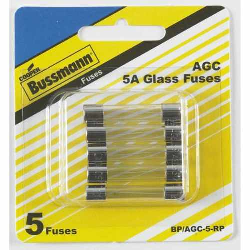 small resolution of cooper bussmann 5 pack 5 amp fast acting electronic fuse