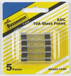 cooper bussmann 5 pack 10 amp fast acting electronic fuse [ 900 x 900 Pixel ]