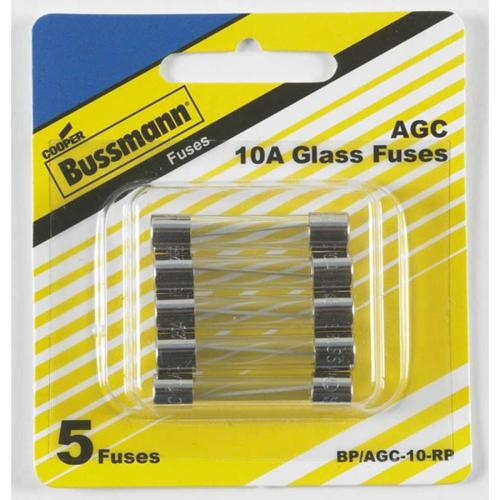 small resolution of cooper bussmann 5 pack 10 amp fast acting electronic fuse
