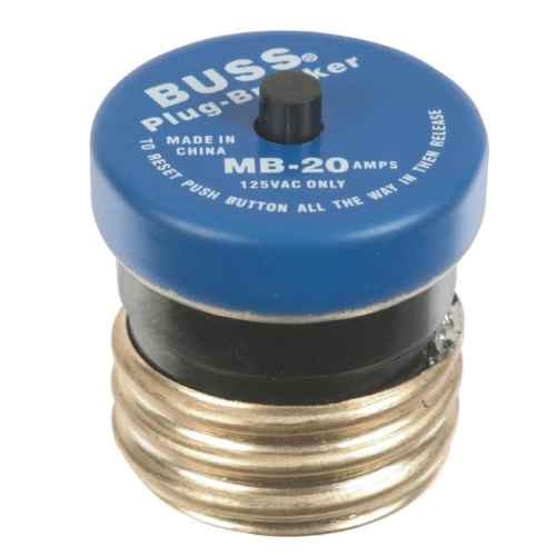 small resolution of cooper bussmann 20 amp fast acting plug fuse