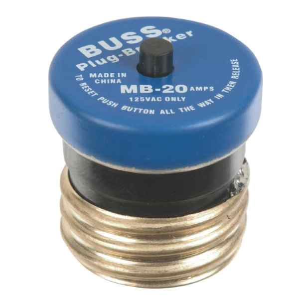 Cooper Bussmann 20-amp Fast Acting Plug Fuse