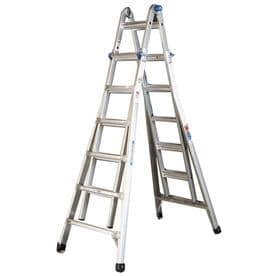Werner 26-ft Aluminum 300-lb Telescoping Type IA Multi-Position Ladder