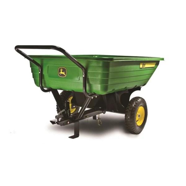 John Deere 8-cu Ft Poly Dump Cart