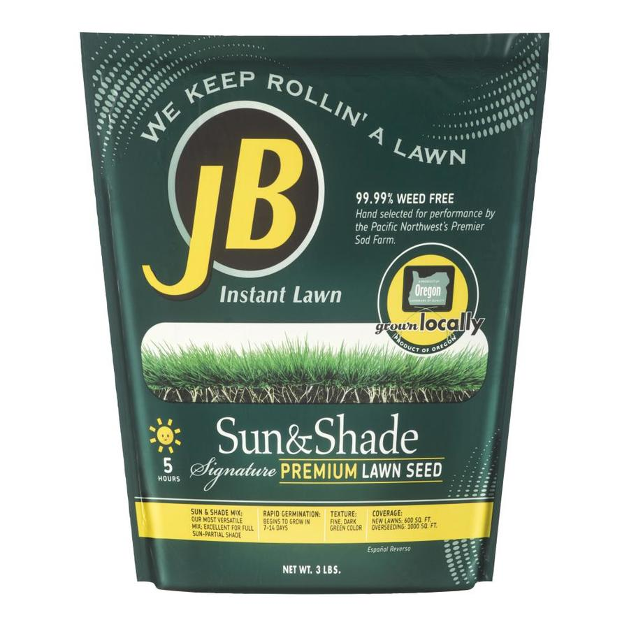 JB Instant Lawn Signature 3-lb Grass Seed Sun and Shade ...