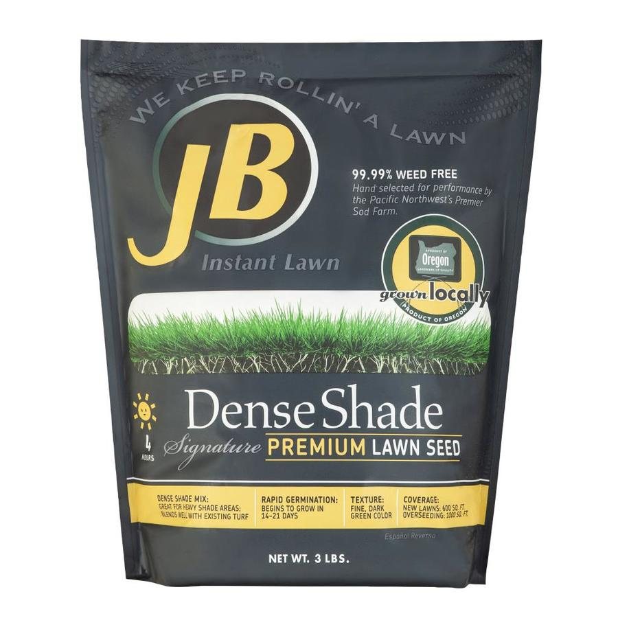 JB Instant Lawn Signature 3-lb Grass Seed Dense Shade Seed ...