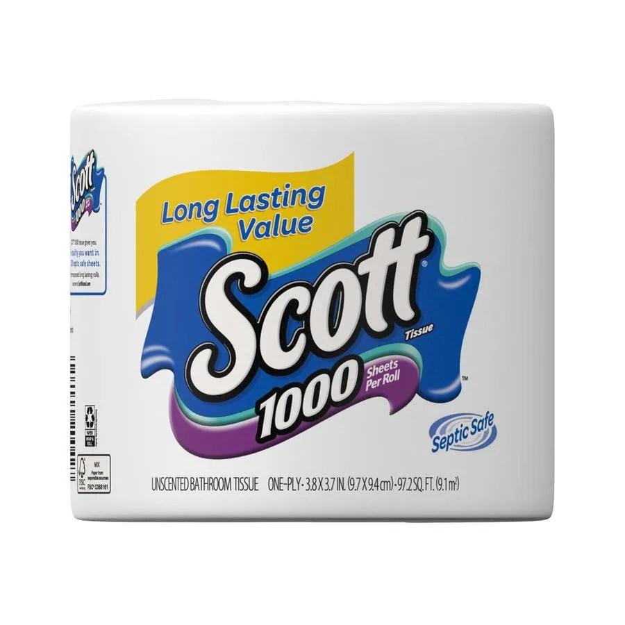 SCOTT Toilet Paper at Lowescom