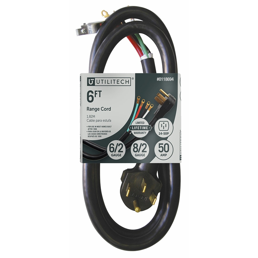 hight resolution of utilitech 6 ft 6 4 50 amp general extension cord