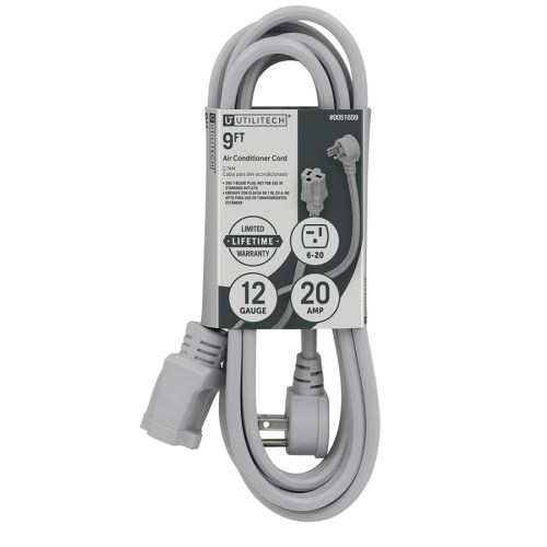 small resolution of utilitech 9 ft 12 3 20 amp general extension cord
