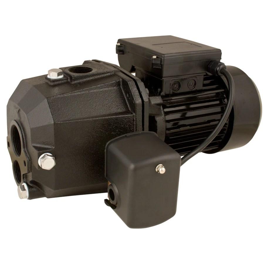 medium resolution of utilitech 0 5 hp cast iron deep well jet pump