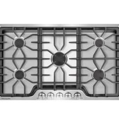 frigidaire gallery 36 in 5 burner stainless steel gas cooktop common 36 in actual 36 in  [ 900 x 900 Pixel ]