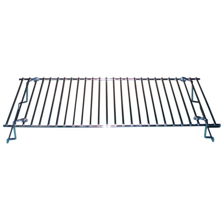 GrillPro 20.625-in x 6.6875-in 1 Rectangle Plated Steel
