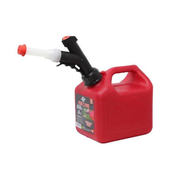 Garageboss 1-gallon Plastic Gasoline