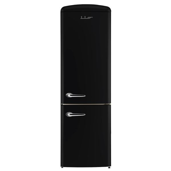 Chambers Retro Fridges 12-cu Ft Bottom-freezer Refrigerator Black Energy Star