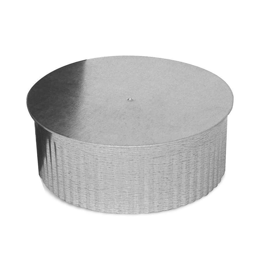 medium resolution of imperial 7 in dia galvanized steel round end cap