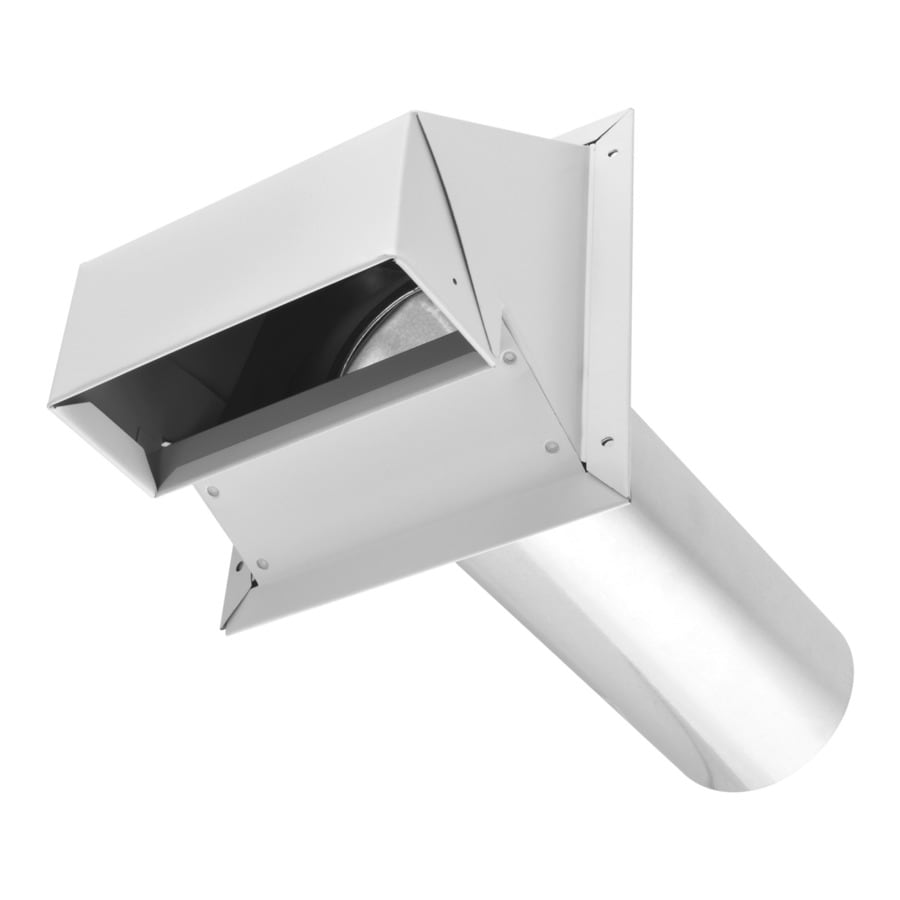 imperial 4 in dia galvanized steel r2 exhaust dryer vent hood in the dryer vent hoods department at lowes com