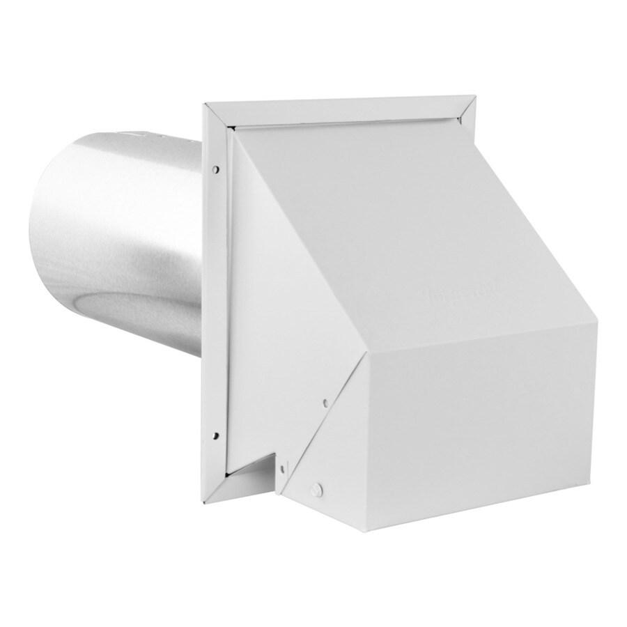 imperial 6 in dia galvanized steel r2 exhaust intake dryer vent hood