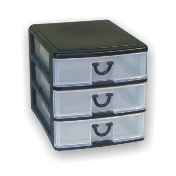 3 Drawer Desktop Storage Organizer