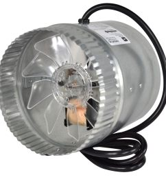 suncourt inductor 6 in dia galvanized steel axial duct fan [ 900 x 900 Pixel ]