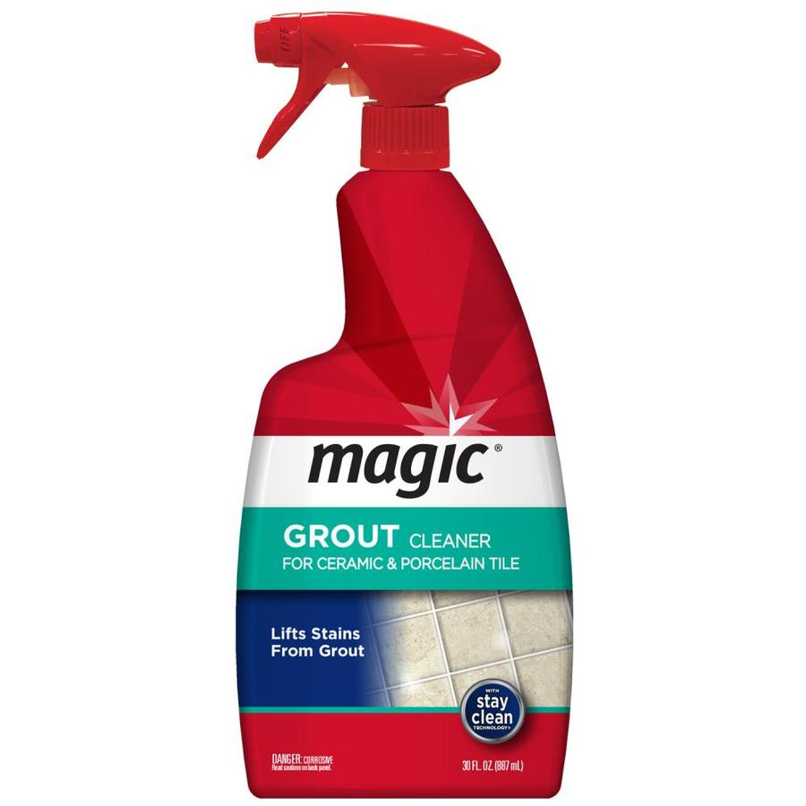 magic 30 oz grout cleaner lowes com