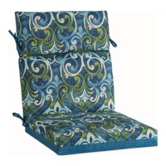 High Back Chair Patio Furniture Xavier Wheelchair Cushion Cushions At Lowes Com Garden Treasures 1 Piece Salito Marine