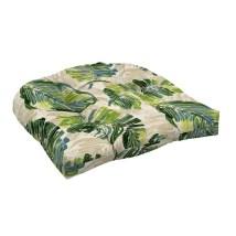 Garden Treasures 1-piece Palm Leaf Seat Pad Cushion