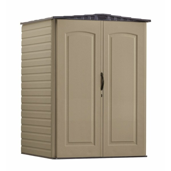 Rubbermaid Roughneck Gable Storage Shed Common 5-ft