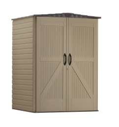 rubbermaid roughneck storage shed common 5 ft x 4 ft actual [ 900 x 900 Pixel ]