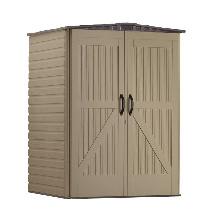 hight resolution of rubbermaid roughneck storage shed common 5 ft x 4 ft actual